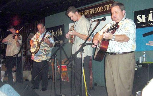 Shubb/Saga party, July 2003