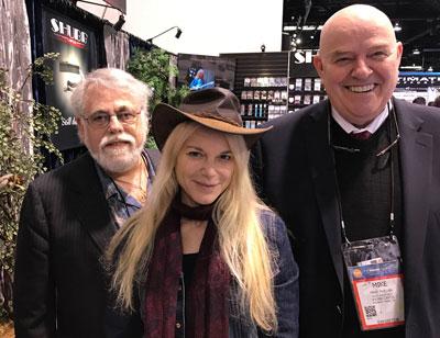 me, Amilia Spicer, Mike Phelan