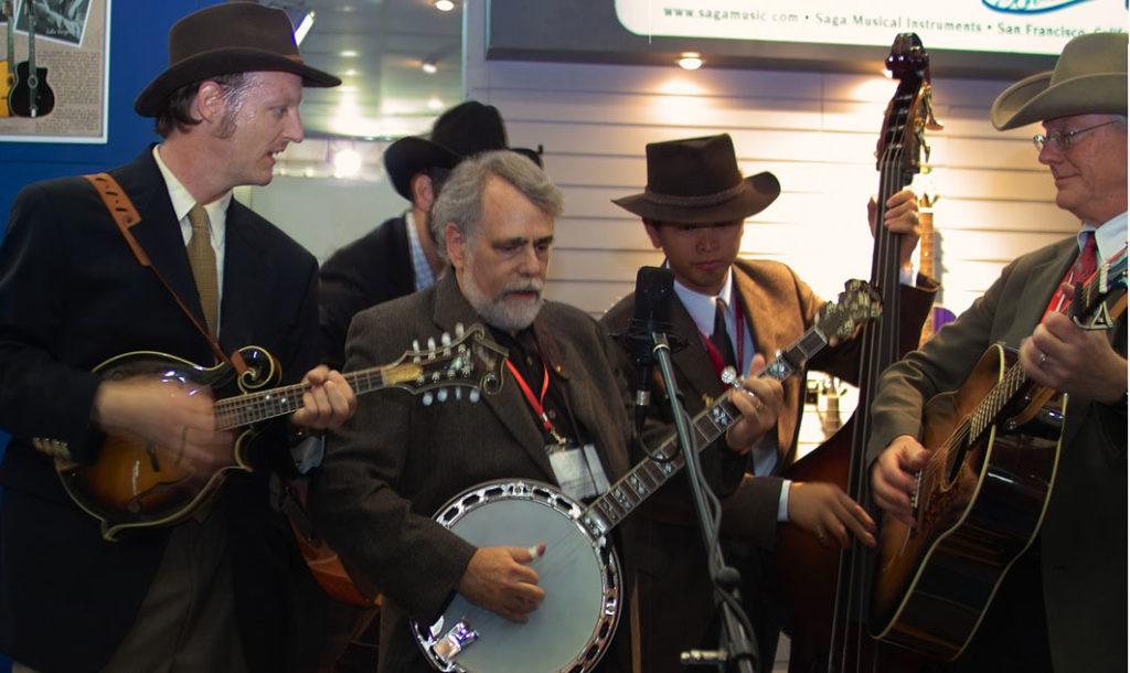 Here I am with Saga's Tora Bora Boys at the Music China show, Shanghai. Oct. 19, 2006