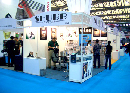 our booth in Shanghai