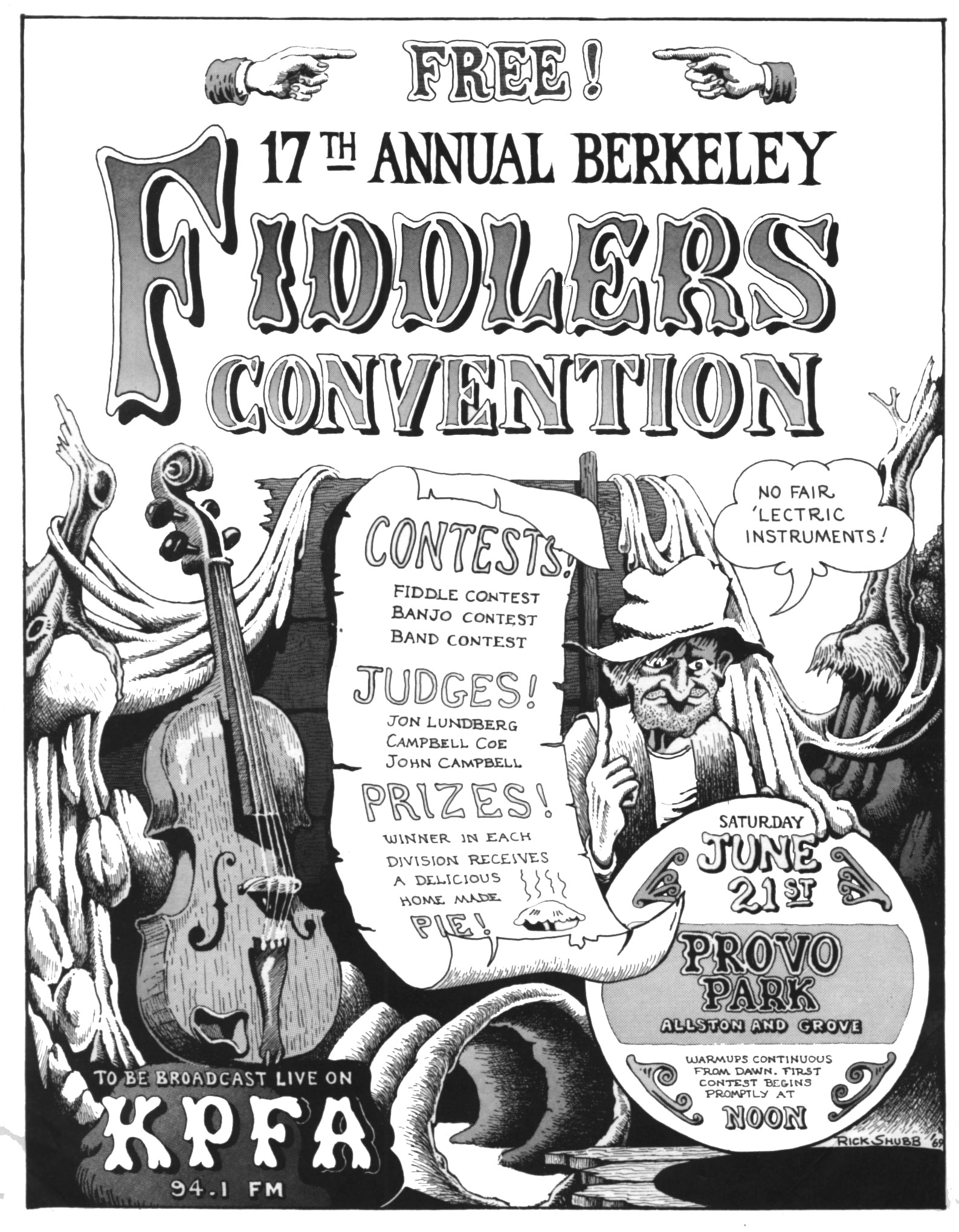 Fiddlers Convention poster