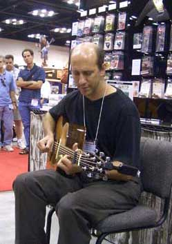 Richard Gilewitz at NAMM